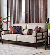 悠质家居.新中式实木沙发