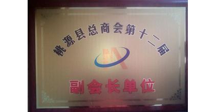 众信保安荣获桃源县总商会第十二届副会长单位
