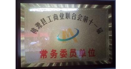 众信保安荣获桃源县工商业联合会第十一届常务委员单位