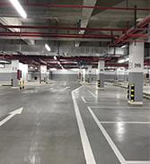 中路达.停车场设计划线施工