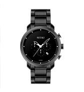 永达钟表.商务型不锈钢多功能腕表