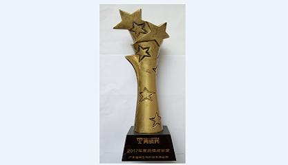 西岛荣获2017年度品牌成长奖青铜奖