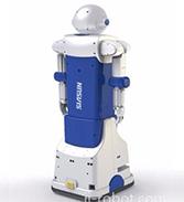 国际智能机器人产业平台.迎宾展示机器人