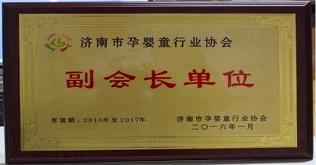 同汇妈妈荣获济南市婴童协会副会长单位