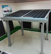 九州太阳能.全铝阳光棚太阳能发电系统