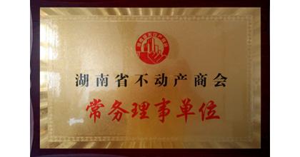 近卫军荣获湖南省不动产商会常务理事单位