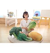 微微熊.蔬菜抱枕系列